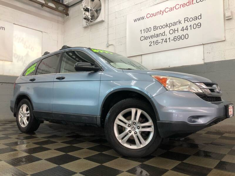 2010 Honda CR-V for sale at County Car Credit in Cleveland OH