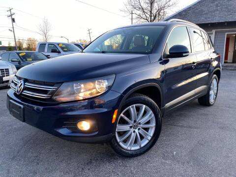 2012 Volkswagen Tiguan for sale at Mass Auto Exchange in Framingham MA