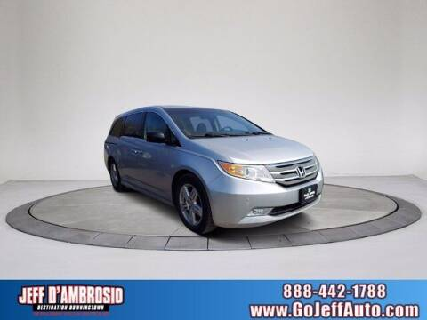 2012 Honda Odyssey for sale at Jeff D'Ambrosio Auto Group in Downingtown PA