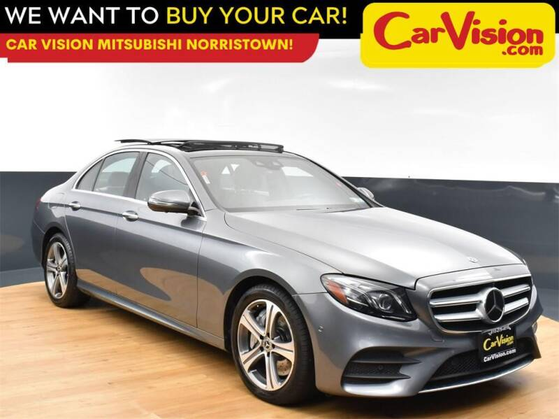 2018 Mercedes-Benz E-Class for sale at Car Vision Mitsubishi Norristown in Norristown PA