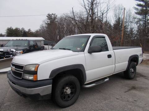 2006 Chevrolet Silverado 1500 for sale at Manchester Motorsports in Goffstown NH