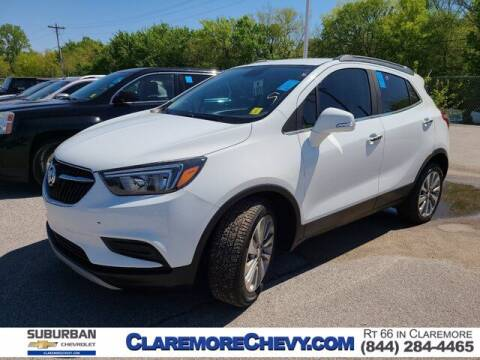 2017 Buick Encore for sale at Suburban Chevrolet in Claremore OK