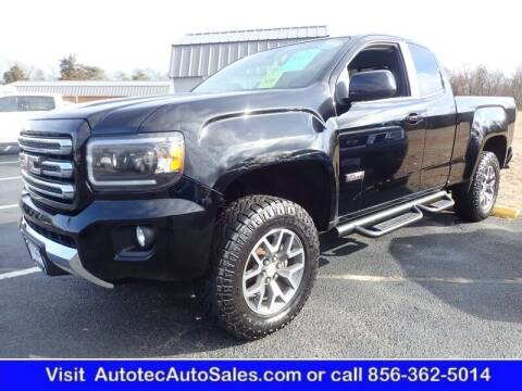2017 GMC Canyon for sale at Autotec Auto Sales in Vineland NJ