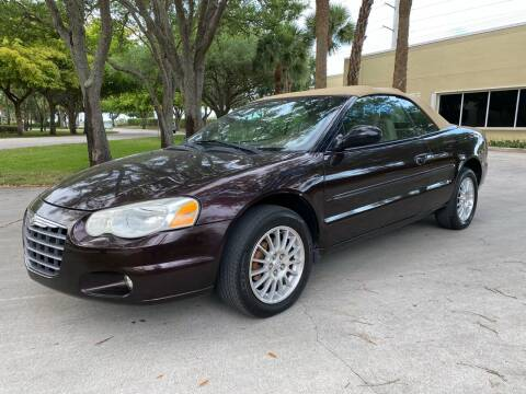 2004 Chrysler Sebring for sale at Ultimate Dream Cars in Wellington FL