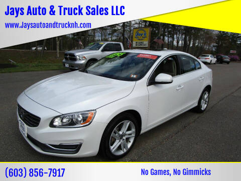 2015 Volvo S60 for sale at Jays Auto & Truck Sales LLC in Loudon NH