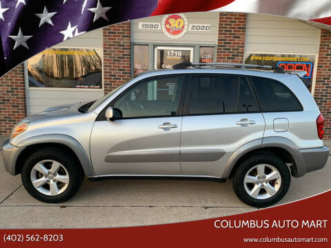 2005 Toyota RAV4 for sale at Columbus Auto Mart in Columbus NE