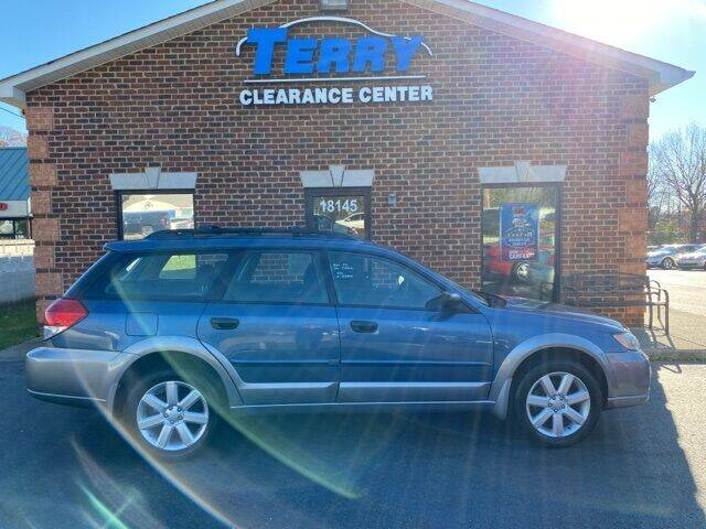 2009 Subaru Outback for sale at Terry Clearance Center in Lynchburg VA