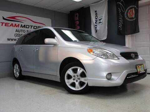2005 Toyota Matrix for sale at TEAM MOTORS LLC in East Dundee IL
