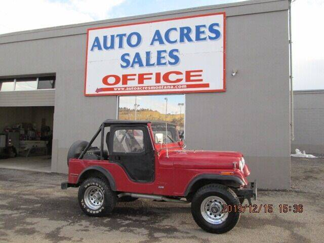 1975 Jeep C-J5 for sale at Auto Acres in Billings MT