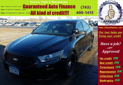 2014 Ford Taurus for sale at Capital Fleet  & Remarketing  Auto Finance in Columbia Heights MN