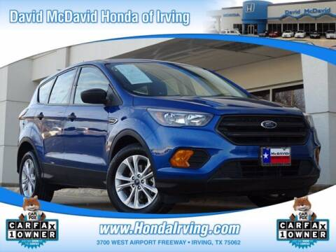 2019 Ford Escape for sale at DAVID McDAVID HONDA OF IRVING in Irving TX