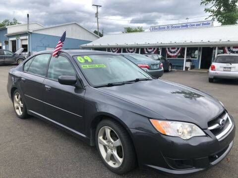 2009 Subaru Legacy for sale at HACKETT & SONS LLC in Nelson PA