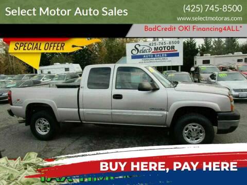2005 Chevrolet Silverado 2500HD for sale at Select Motor Auto Sales in Lynnwood WA