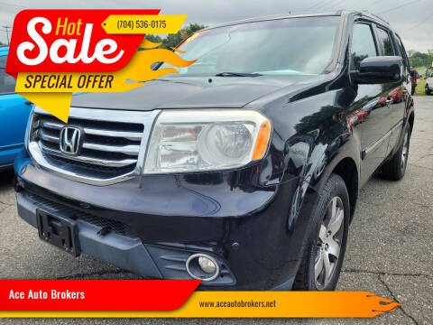 2013 Honda Pilot for sale at Ace Auto Brokers in Charlotte NC