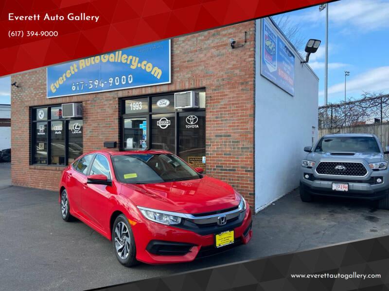 2018 Honda Civic for sale at Everett Auto Gallery in Everett MA
