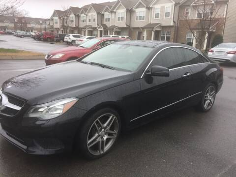 2014 Mercedes-Benz E-Class for sale at Ron's Auto Sales (DBA Paul's Trading Station) in Mount Juliet TN