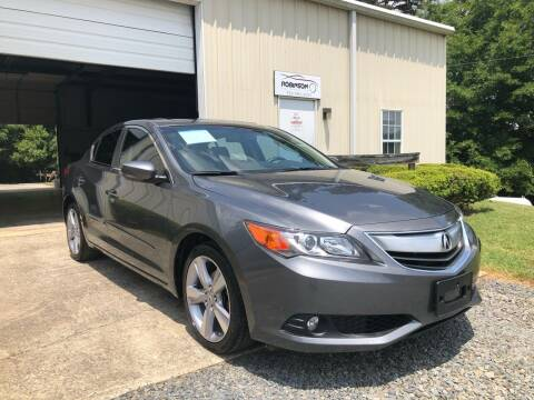 2013 Acura ILX for sale at Robinson Automotive in Albemarle NC