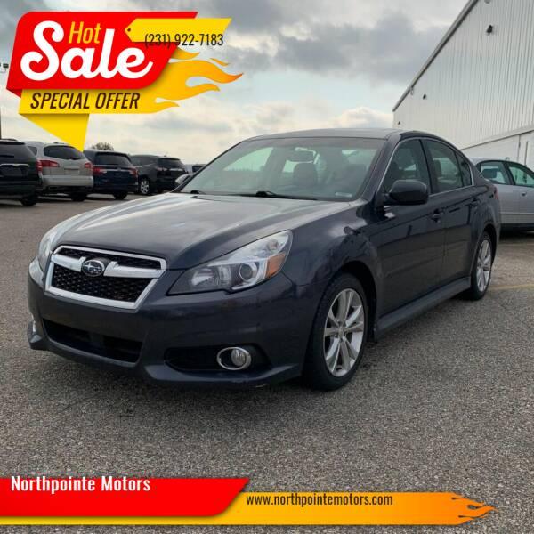 2013 Subaru Legacy for sale at Northpointe Motors in Kalkaska MI