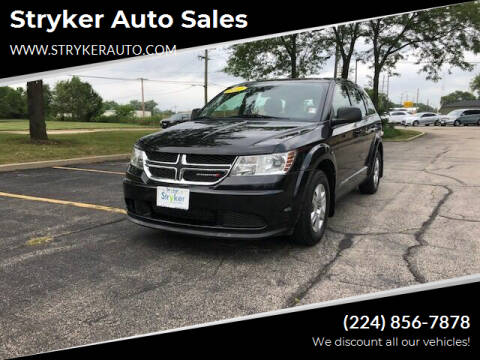 2012 Dodge Journey for sale at Stryker Auto Sales in South Elgin IL