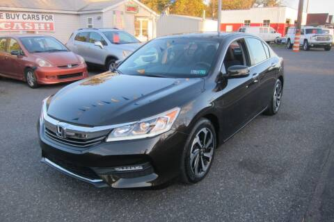 2017 Honda Accord for sale at K & R Auto Sales,Inc in Quakertown PA