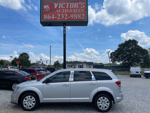 2014 Dodge Journey for sale at Victor's Auto Sales in Greenville SC