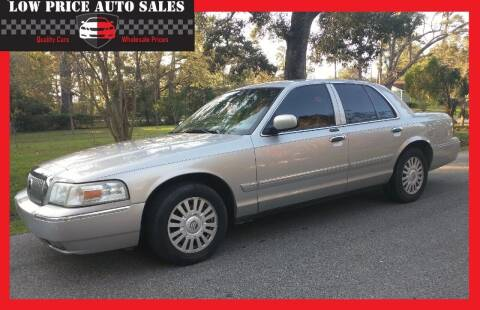 2007 Mercury Grand Marquis for sale at Low Price Autos in Beaumont TX
