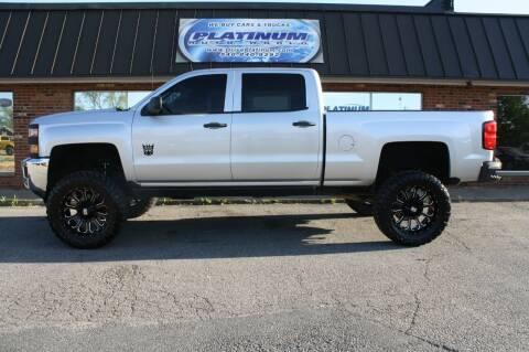 2015 Chevrolet Silverado 2500HD for sale at Platinum Auto World in Fredericksburg VA