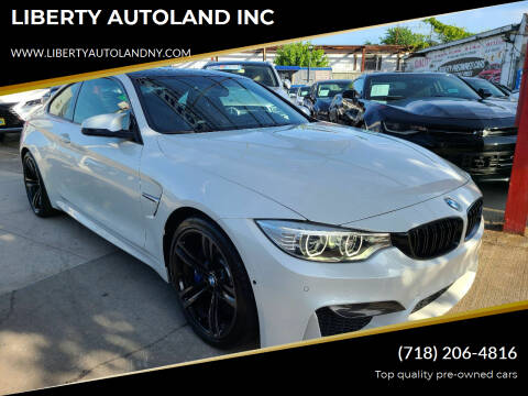 2015 BMW M4 for sale at LIBERTY AUTOLAND INC - LIBERTY AUTOLAND II INC in Queens Villiage NY