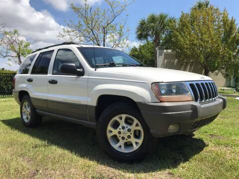 2000 Jeep Grand Cherokee for sale at Kaler Auto Sales in Wilton Manors FL
