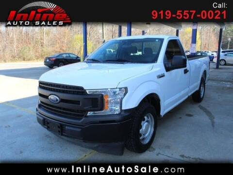 2019 Ford F-150 for sale at Inline Auto Sales in Fuquay Varina NC