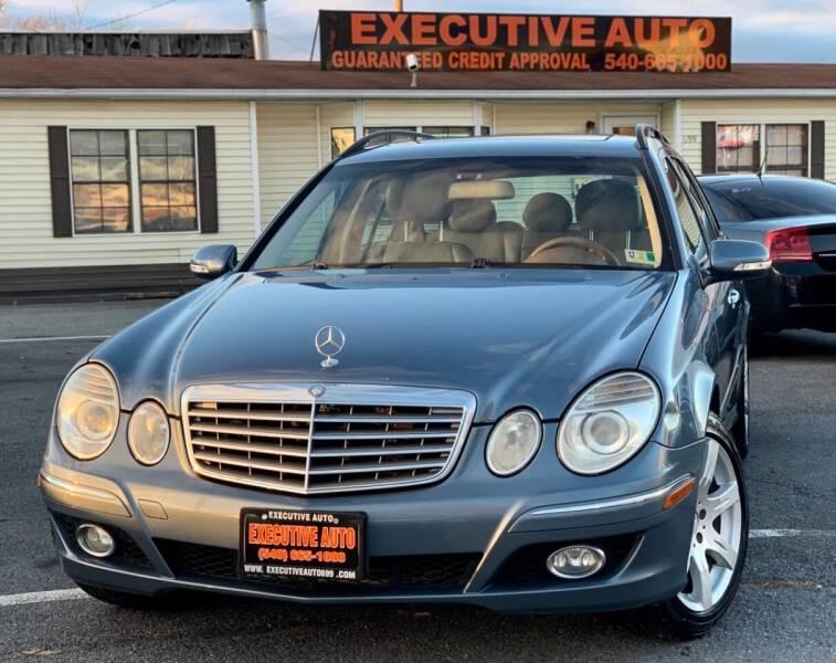 2007 Mercedes-Benz E-Class for sale at Executive Auto in Winchester VA