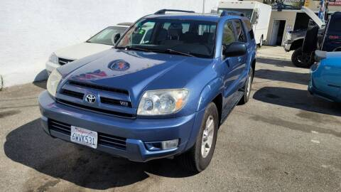 2003 Toyota 4Runner for sale at L.A. Vice Motors in San Pedro CA