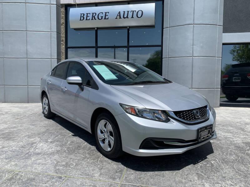 2014 Honda Civic for sale at Berge Auto in Orem UT