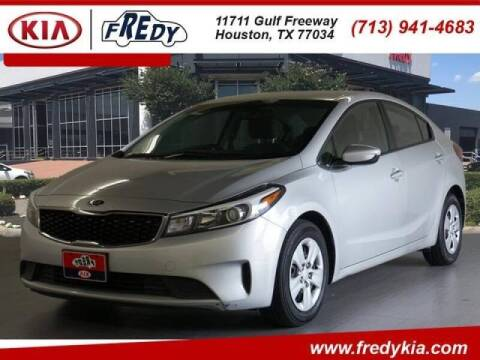 2017 Kia Forte for sale at FREDYS CARS FOR LESS in Houston TX