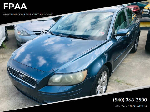 2006 Volvo S40 for sale at FPAA in Fredericksburg VA