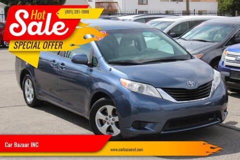 2014 Toyota Sienna for sale at Car Bazaar INC in Salt Lake City UT