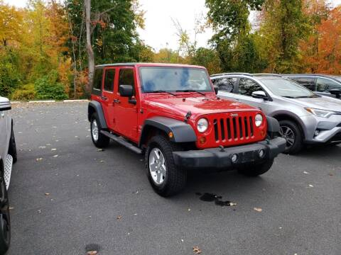 2010 Jeep Wrangler Unlimited for sale at KLC AUTO SALES in Agawam MA