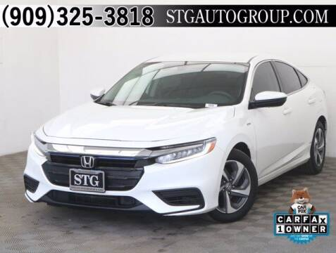 2019 Honda Insight for sale at STG Auto Group in Montclair CA
