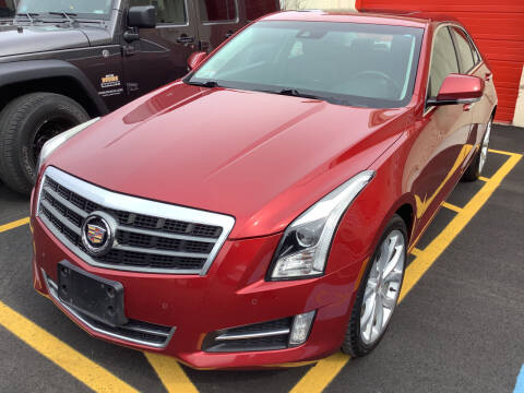 2014 Cadillac ATS for sale at Motuzas Automotive Inc. in Upton MA