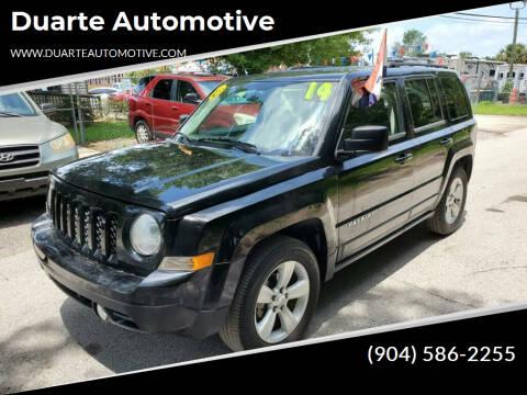 2014 Jeep Patriot for sale at Duarte Automotive in Jacksonville FL
