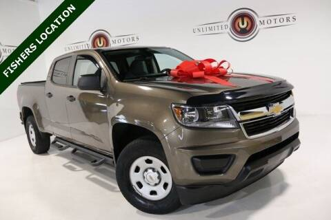 2016 Chevrolet Colorado for sale at Unlimited Motors in Fishers IN