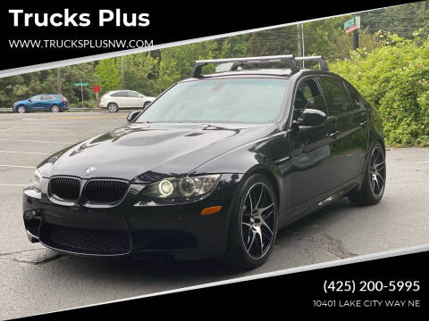 2009 BMW M3 for sale at Trucks Plus in Seattle WA