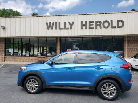 2017 Hyundai Tucson for sale at Willy Herold Automotive in Columbus GA
