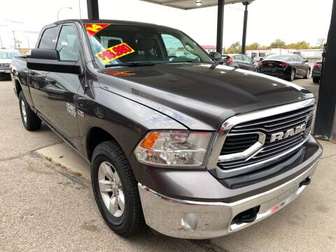 2014 RAM Ram Pickup 1500 for sale at Top Line Auto Sales in Idaho Falls ID