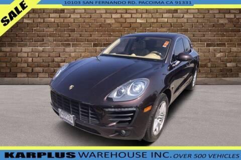 2015 Porsche Macan for sale at Karplus Warehouse in Pacoima CA