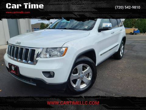 2013 Jeep Grand Cherokee for sale at Car Time in Denver CO