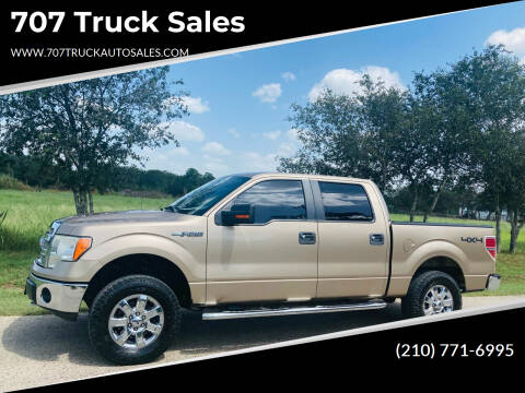 2013 Ford F-150 for sale at 707 Truck Sales in San Antonio TX