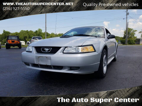1999 Ford Mustang for sale at The Auto Super Center in Centre AL