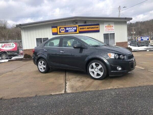 2016 Chevrolet Sonic for sale at BARD'S AUTO SALES in Needmore PA