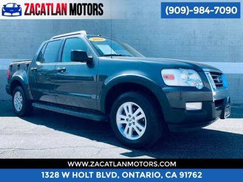 2010 Ford Explorer Sport Trac for sale at Ontario Auto Square in Ontario CA